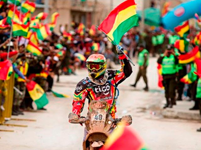 Dakar Por Bolivia - Chavo Salvatierra - Dakar 2015