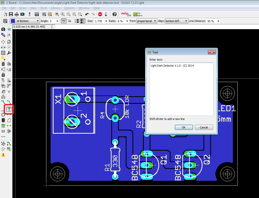 The Answer is 42!!: How to design a PCB using Cadsoft Eagle 7.1