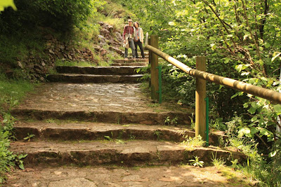Staircase to Castellar de N'Hug