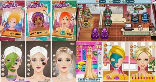 Permainan game Salon Skin Care Kecantikan