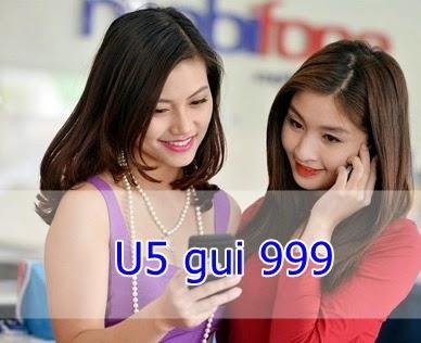 Gói U5 gọi nội mạng Mobifone dưới 10 phút MIỄN PHÍ