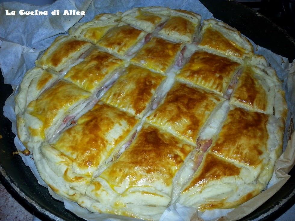 La cucina di alice torta salata a quadrotti - La cucina di alice ...