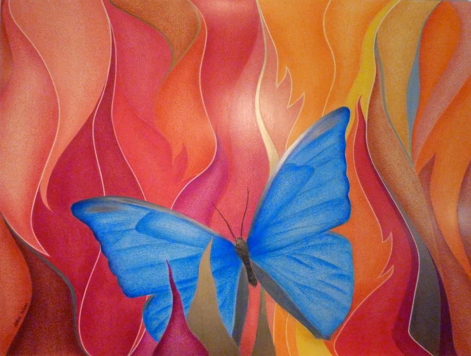 Borboleta Seda Azul - 2011
