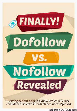 How to use // When to Use #Follow // #NoFollow HTML #Tags // #plbkkt