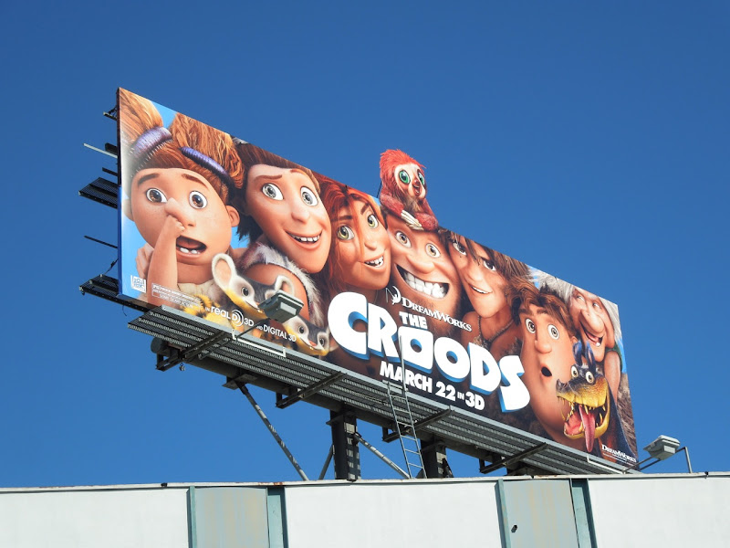 Croods special extension billboard