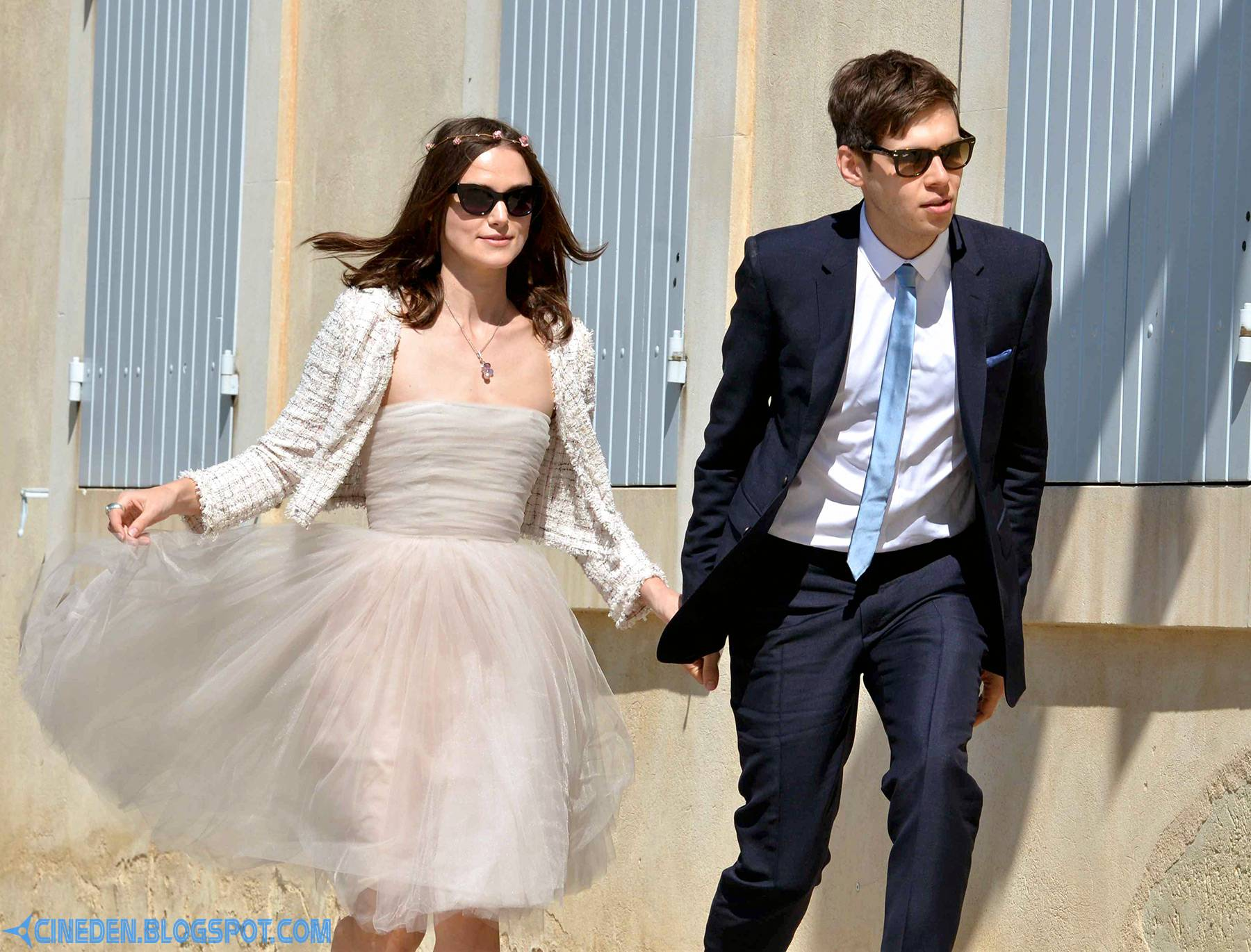 Keira Knightley weds James Righton in France - CineDen