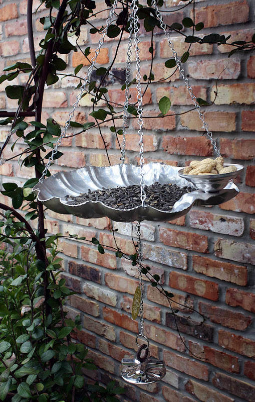 Upcycled Bird Feeders