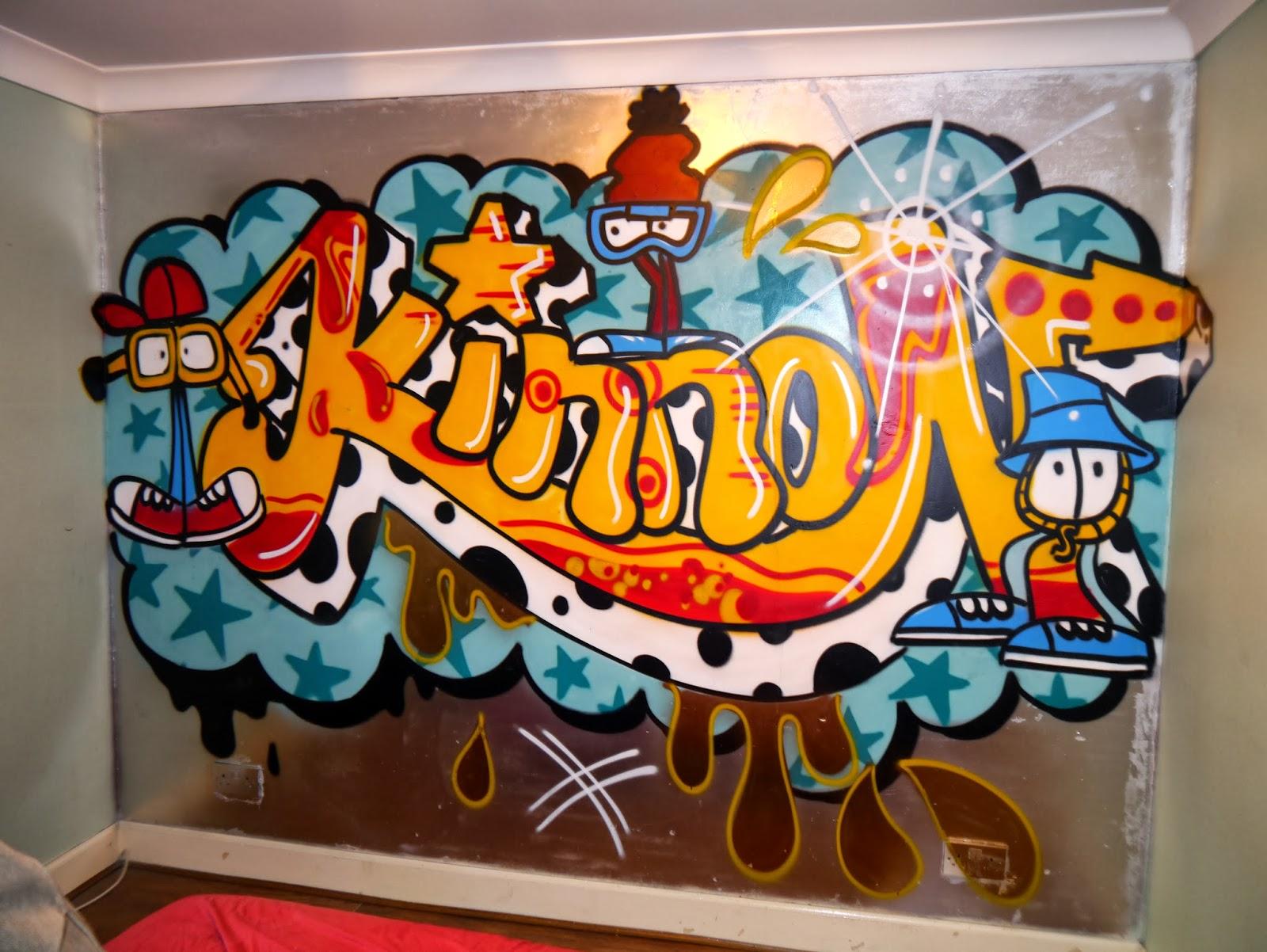Artwork kids - Graffitis para habitaciones ...
