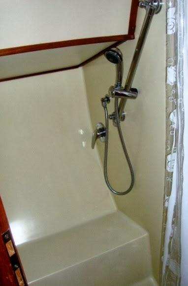 Banheiro com água quente