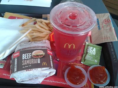 Beef Samurai McDonalds