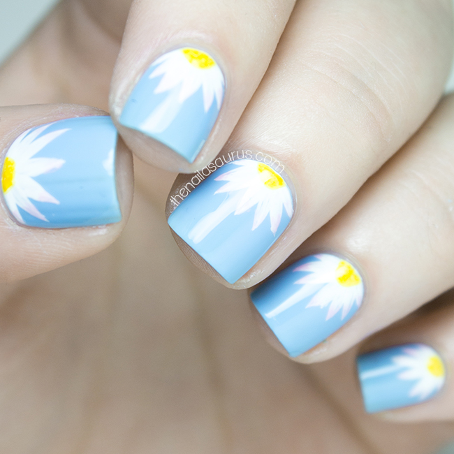 The Lacquer Legion: Garden. Dainty Daisies.