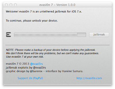 How to jailbreak iPhone 5S using evasi0n 7 Untethered Jailbreak iOS 7.x