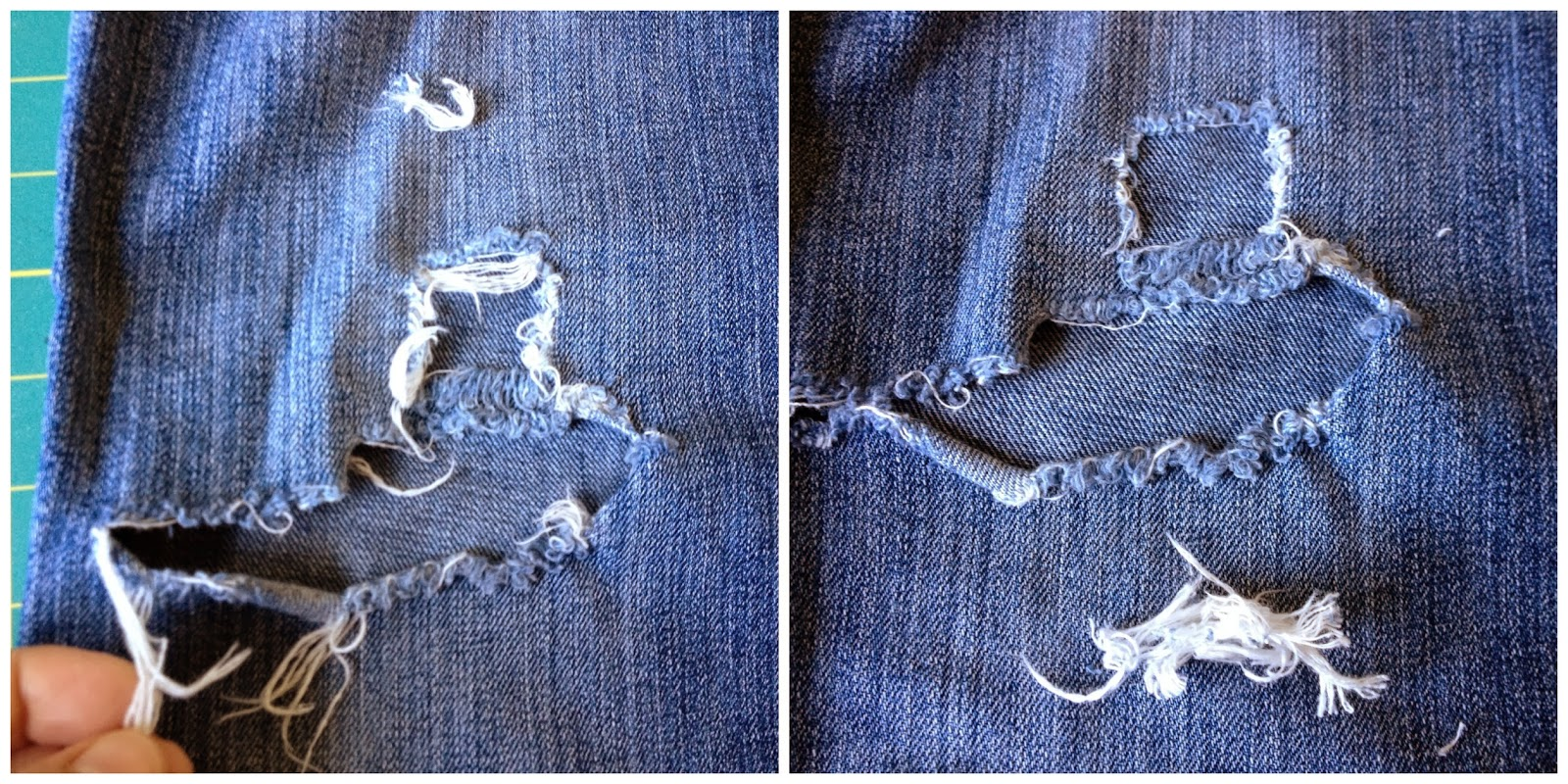 How to make a patch on jeans 27
