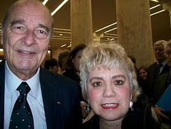* M. Jacques CHIRAC & Morgane BRAVO*