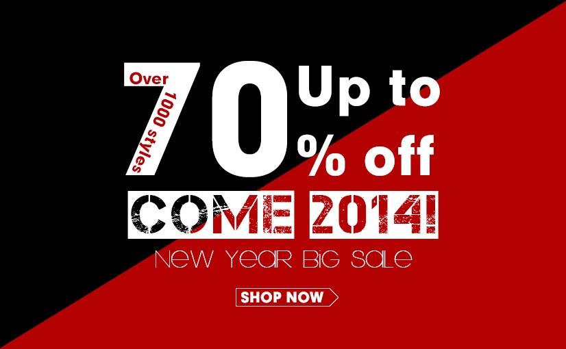 Primeiro Big Sale de 2014