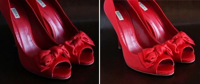 zapatos rojos tacon