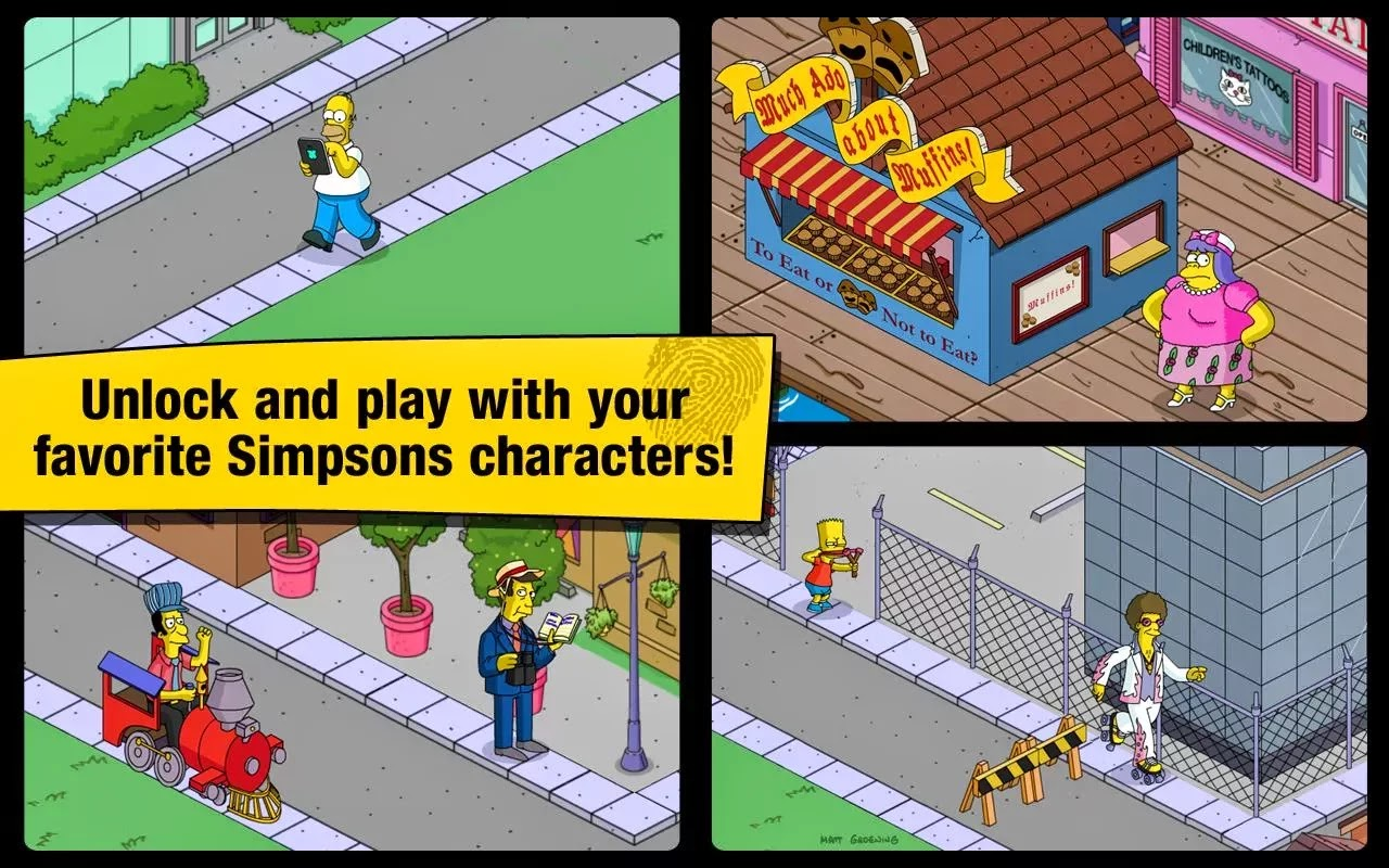 The Simpsons™: Tapped Out v4.8.2 Mod [Unlimited Money & No Banner]