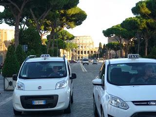 Стоимость такси в Риме