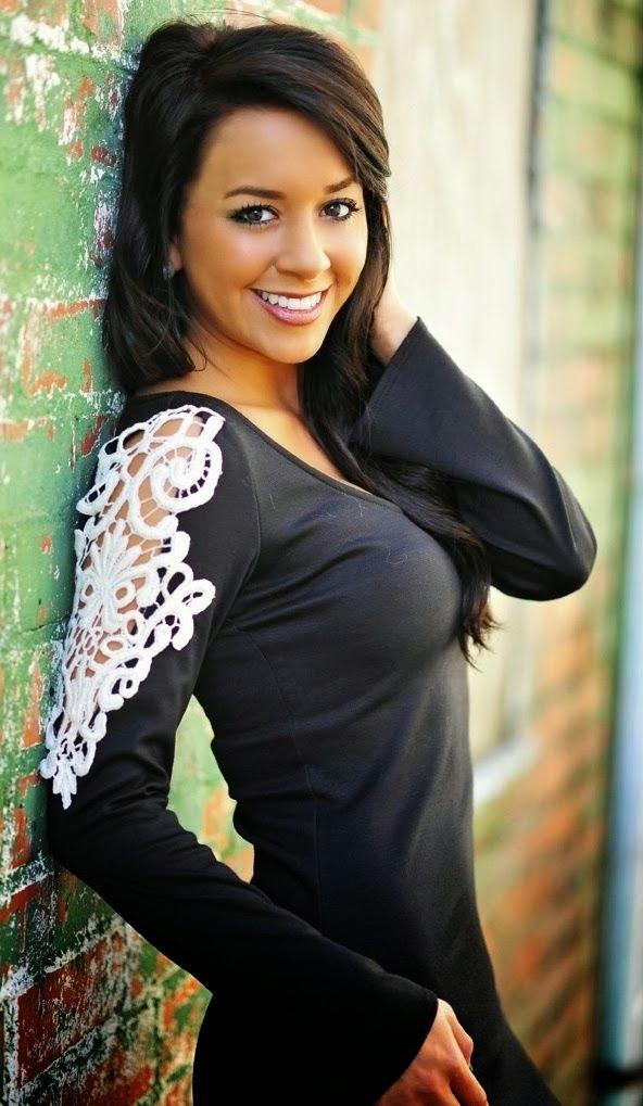 Gorgeous black blouse with lace shoulder detail
