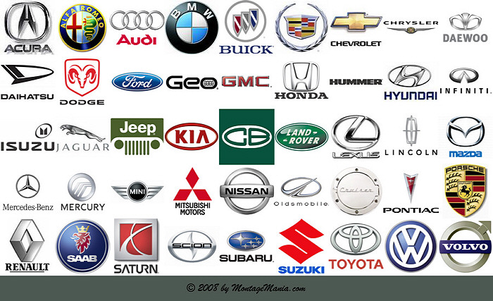 Foreign Car Symbols All Logos: Car ...