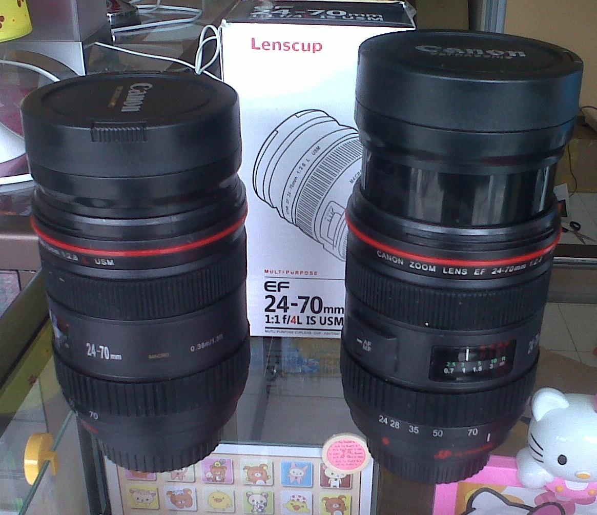 Menjual Mug Gelas Lensa Lens Canon Nikon Cod Bsd Sms Ef 24 70mm Bisa Zoomable