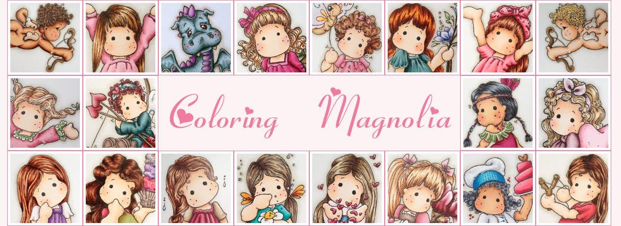 Coloring Magnolia