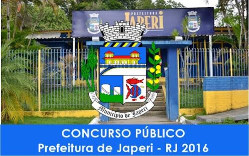 Apostila Concurso Prefeitura de Japeri RJ 2016