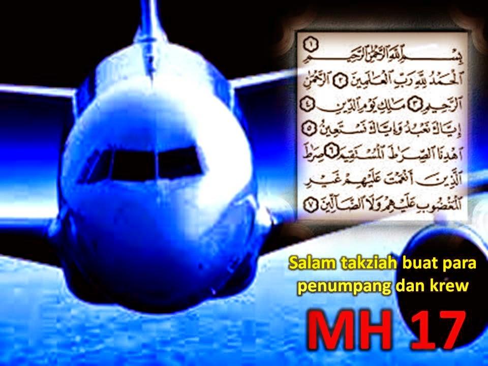 AL FATIHAH DAN TAKZIAH BUAT MH17