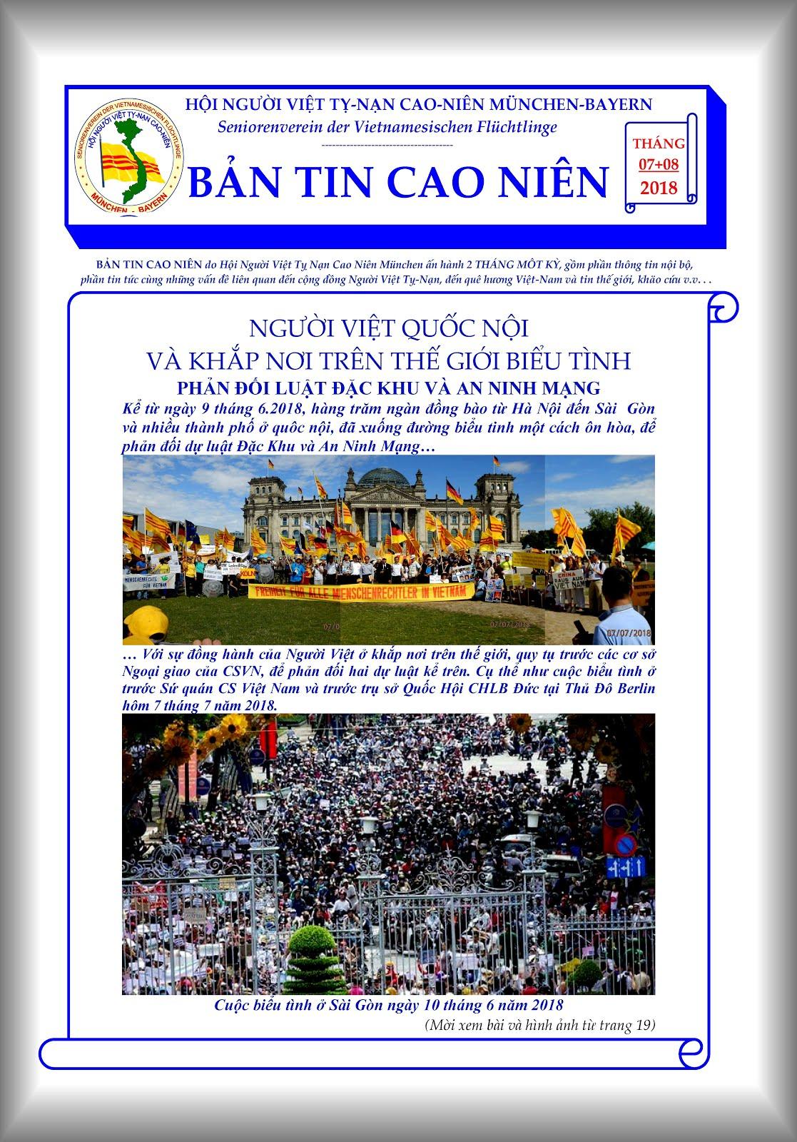 BẢN TIN CAO NIÊN 07+08-2018