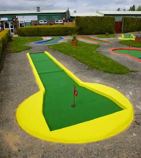 Mini Golf course at Tea Green Golf Club at Wandon End, Luton