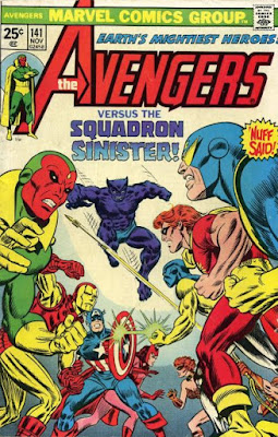 Avengers #141, Squadron Sinister