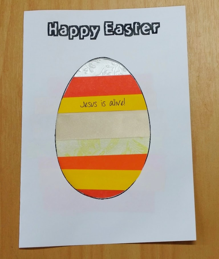 Simple easter craft negle Gallery