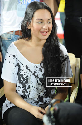 Sonakshi In White Tshirt