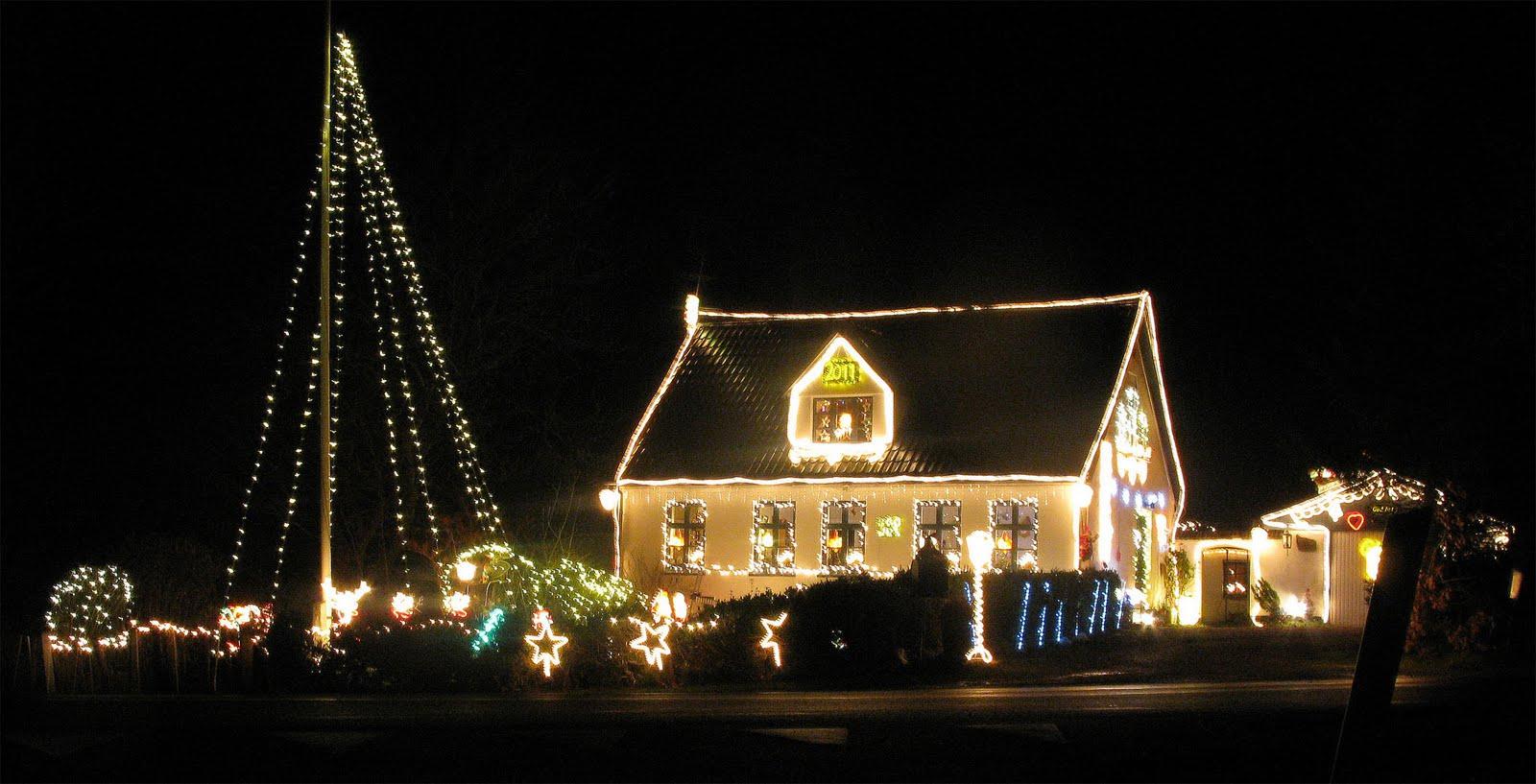 udendørs julelys