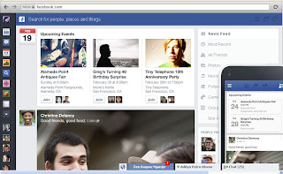 Tampilan Baru Facebook, facebook theme, fb new look, tema FB
