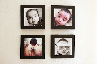 Mounted Instagram Photos