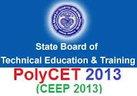 PolyCET 2013 Online Application,Notification