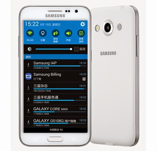 review Samsung Galaxy Core Max Dual Sim