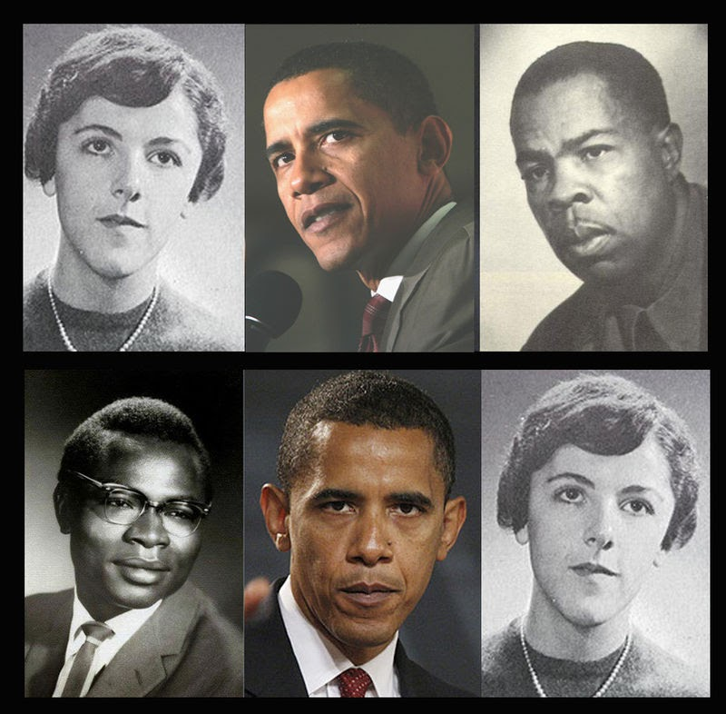 obama mother frank marshall