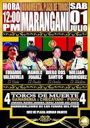 Eduardo Valenzuela, anunciado en Marangani, Perú, el 01/07.