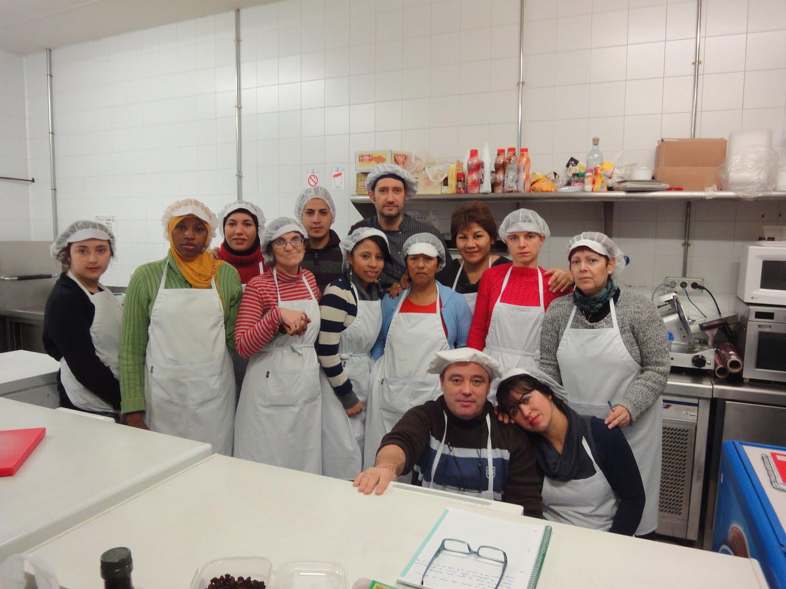 Clases de cocina zaragoza fin del curso de cocina en el centro arsenio jimeno - Cursos de cocina zaragoza ...