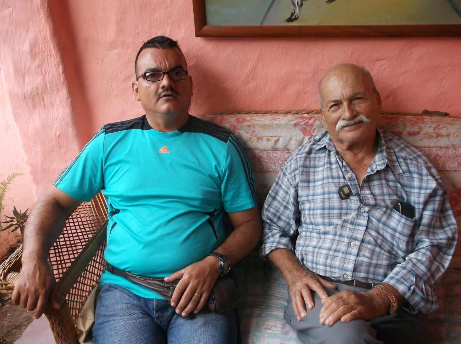 Con mi padre Chiguará 2014