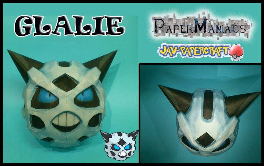 Pokemon Glalie Papercraft