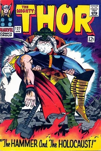 Thor #127 comic cover pic