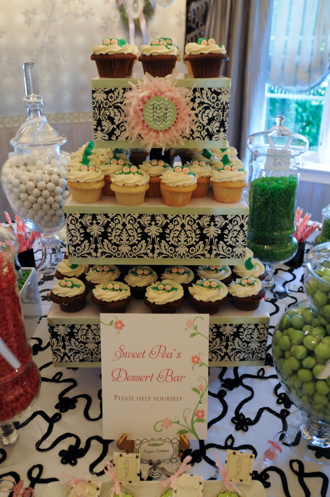 Long Island Style Sweet Pea Baby Shower