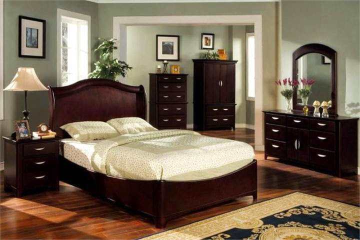Furniture Colour : bedroom paint colors with dark brown furniture
