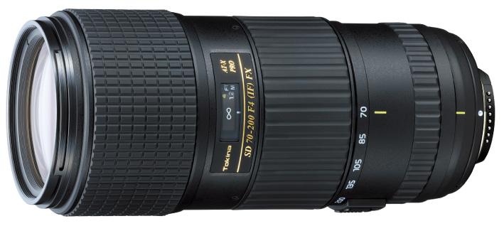 Lensa Tokina 70-200mm F4 Pro FX