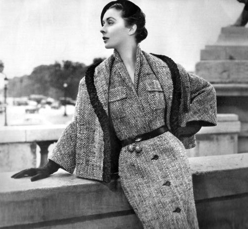 1950s Winter Fashion #50s #fashion #vintage #winter