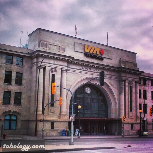 Union Station in Winnipeg Canada