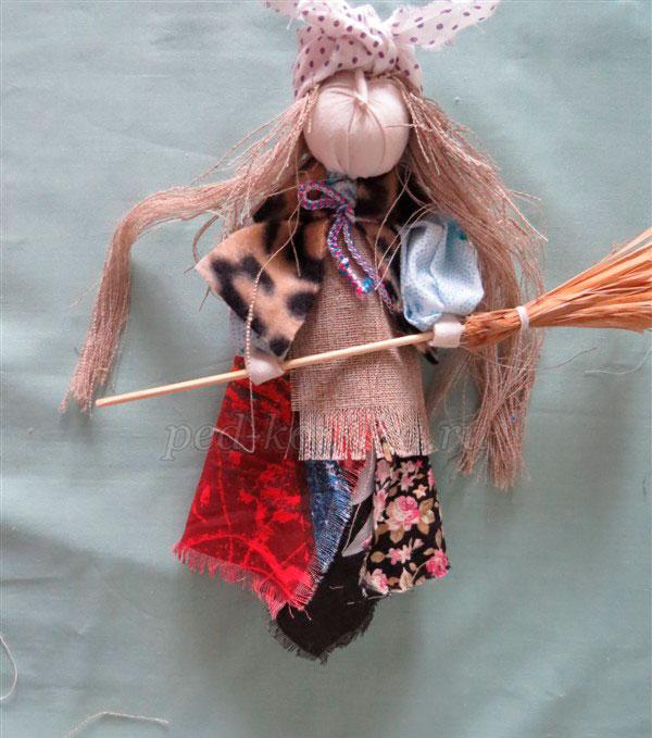 "Кукла-оберег ""Баба-Яга"" сделано своими руками"